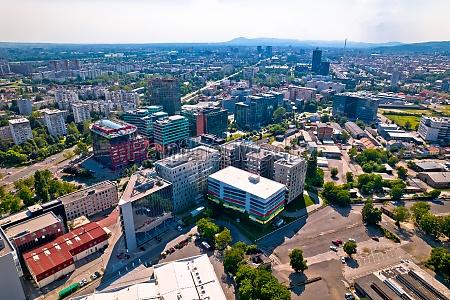 city of zagreb radnicka business district