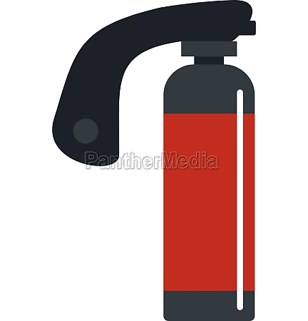 gas cylinder icon isolated