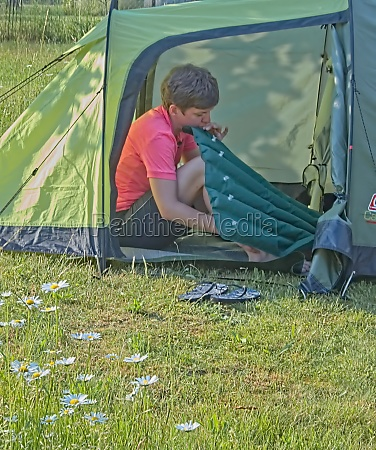 leisure activity camping