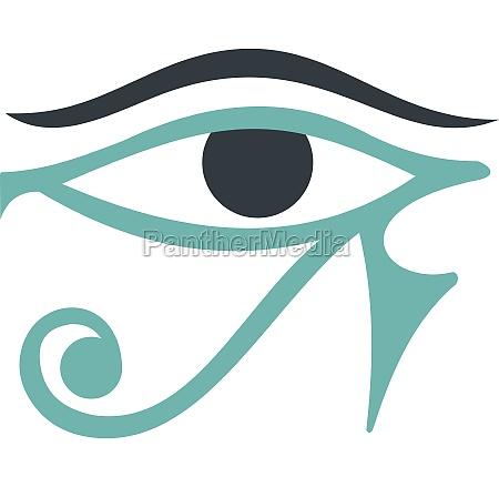 eye of horus icon isolated