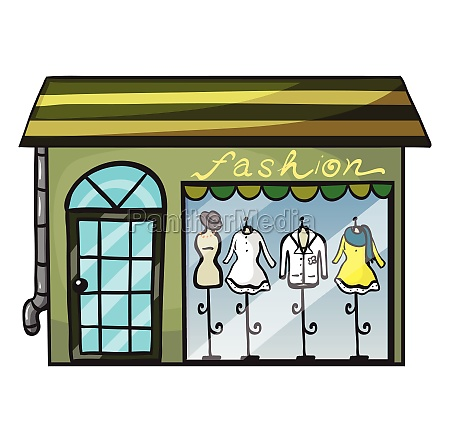 a clothing store