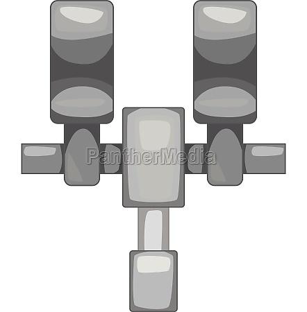 mechanic thing icon monochrome