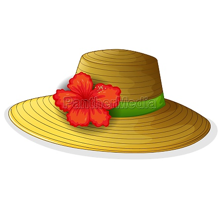 a brown fashion hat with a