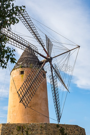 typical wind mill majorca