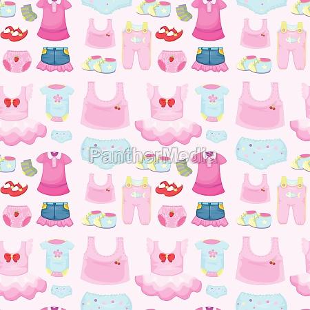 a baby garments