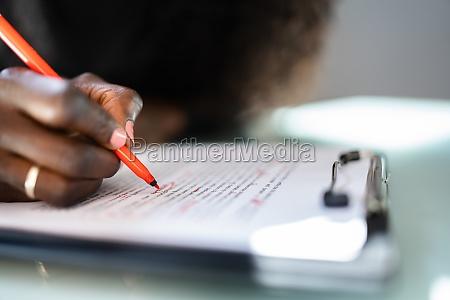 script proofread and sentence grammar spell