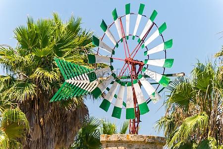 old windmill majorca