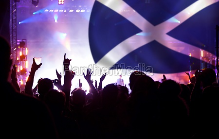 scotland supporters and fans during football