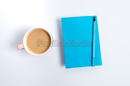pinned variety of empty color paper