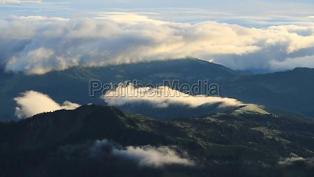 view from mount brienzer rothorn switzerland