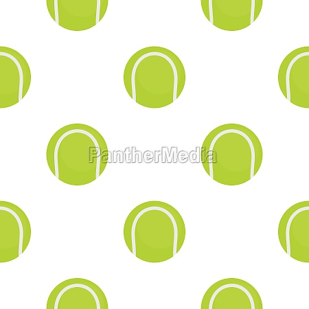 ball for playing tennis pattern flat