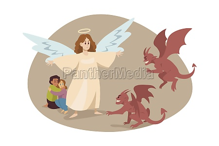 christianity religion protection devil care support