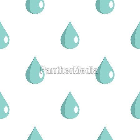 drop pattern flat