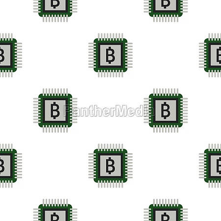 chip pattern flat