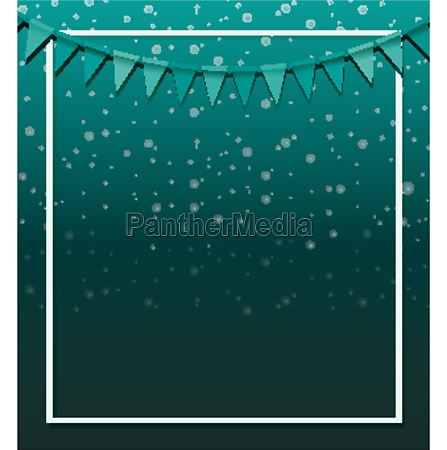 background design with green flags on