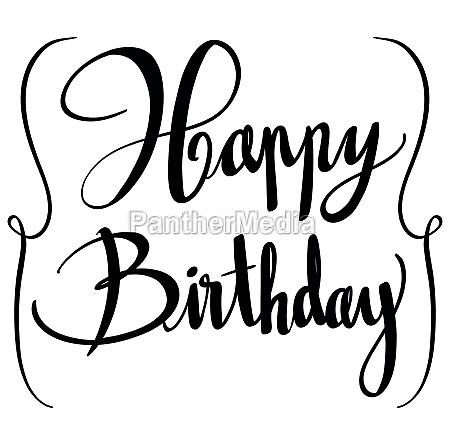 expression for phrase happy birthday