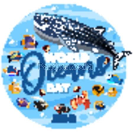 world oceans day icon