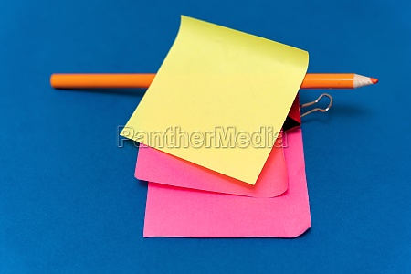 multiple assorted collection office stationery photo