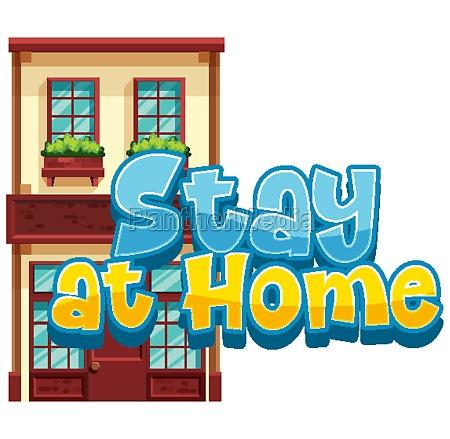 stay home to avoid spreading corona