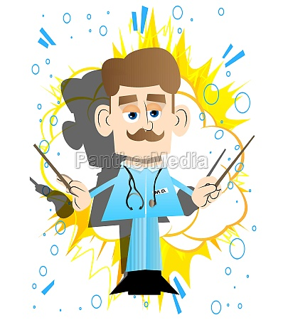 doctor as an orchestra conductor