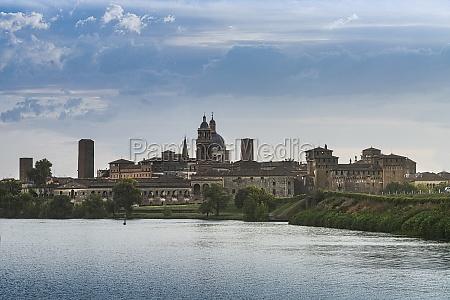 the panorama of mantua italy