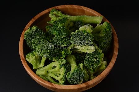 small frozen broccoli pieces