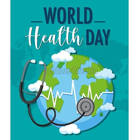 world health day logo
