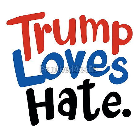 english phrase for trump loves hat