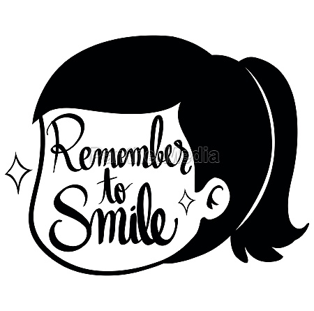word expressions for remember to smile