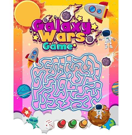 maze puzzle game activity for children