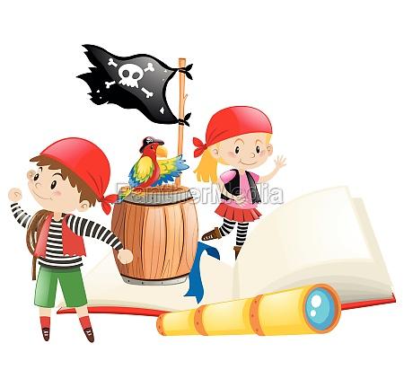 pirates and adventure book