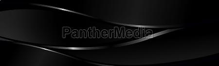 abstract dark black textured panoramic background