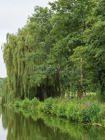 small lake in westphalia