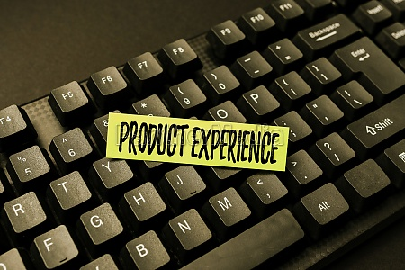 handwriting text product experience business idea