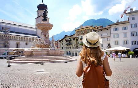 tourism in italy rear view of