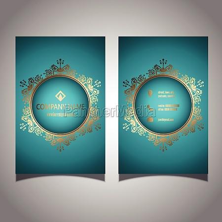 elegant business card design 2906