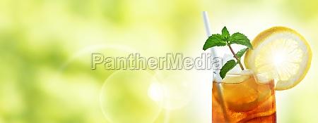 summer drink iced tea