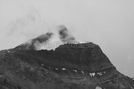 peak of mount oldehore on a