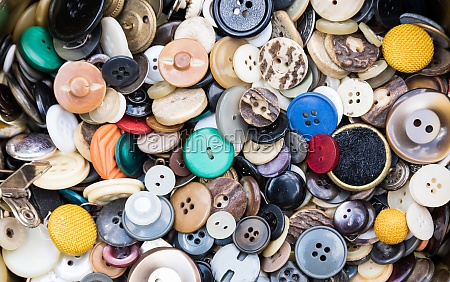 colorful buttons fashion accessory