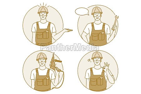 occupation job manual worker concept