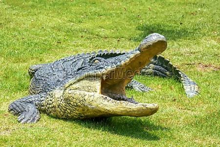 crocodile resin