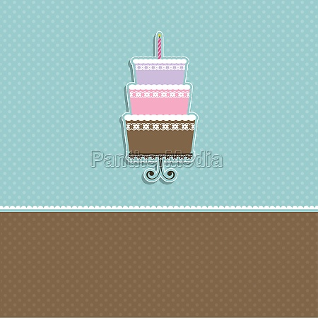 cute cake background