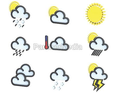 weather icon set no 1