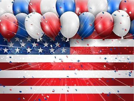 independence day 4th july celebration background