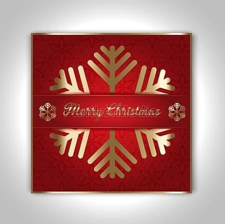 decorative christmas card design