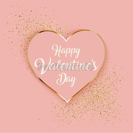 valentines day background with heart and