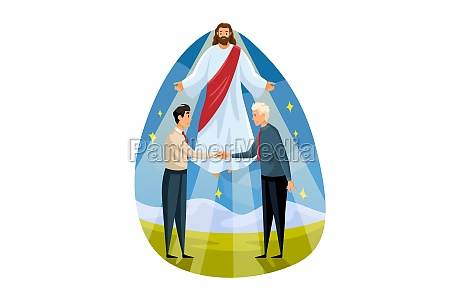 religion blessing support business christianity meeting