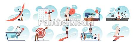 business idea startup success teamwork goal