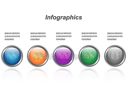 infographic display template idea to