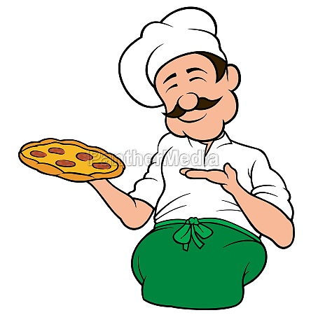 pizza chef character